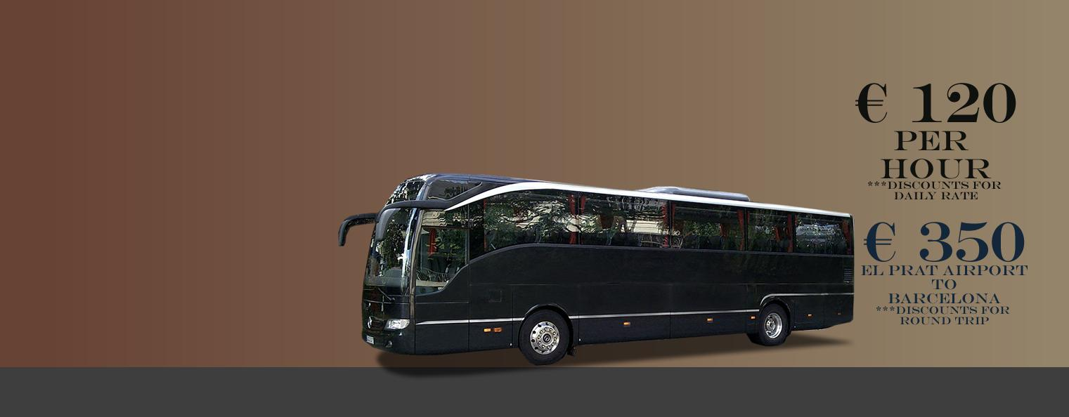 Bus Hire Barcelona