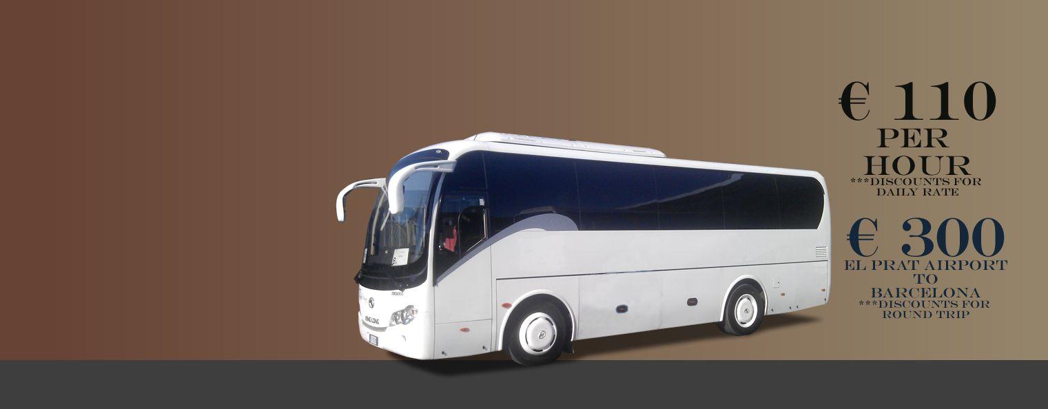 Bus Rental Barcelona
