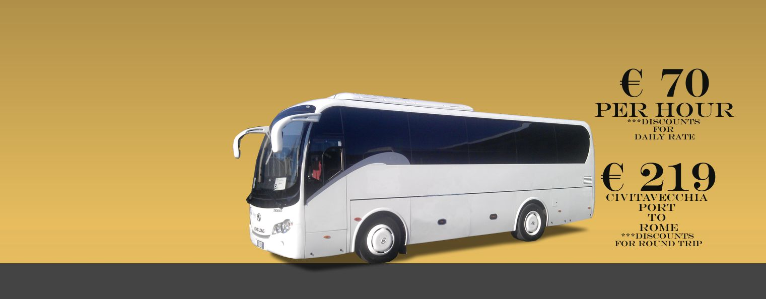 Bus Rental Civitavecchia