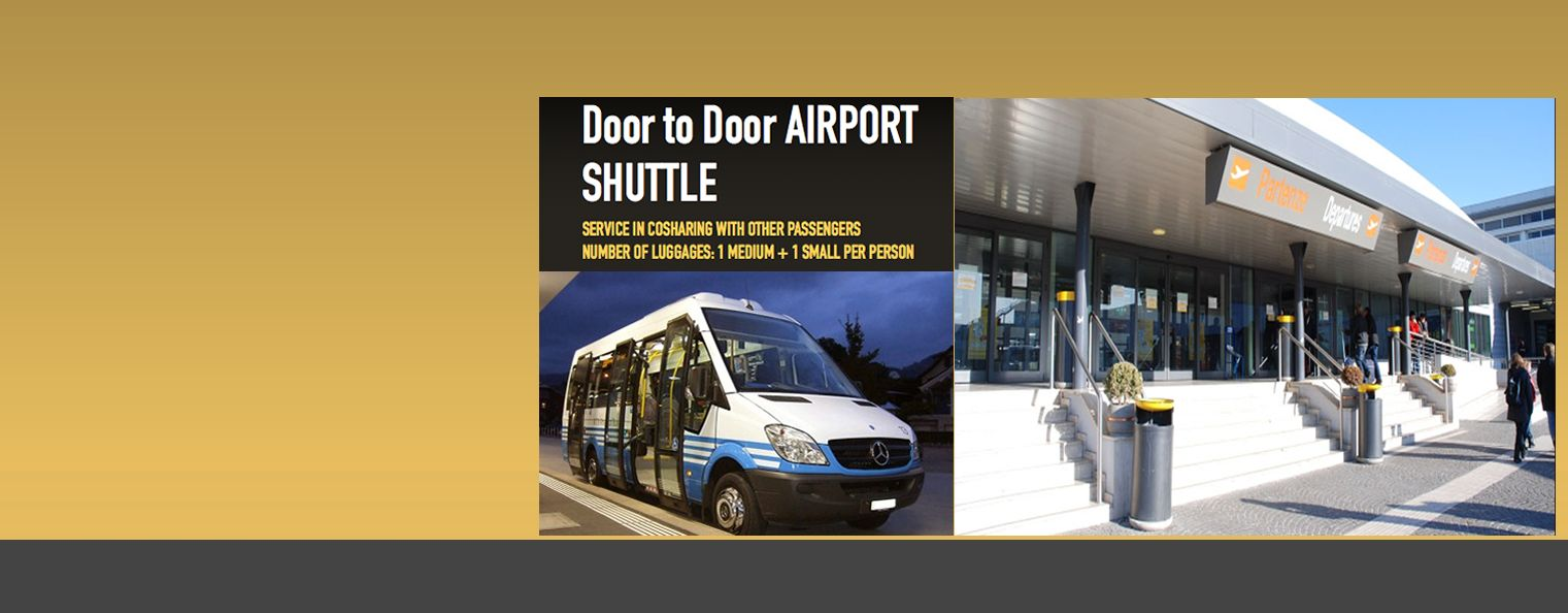 Shuttle Door to door service in Cimapino airport